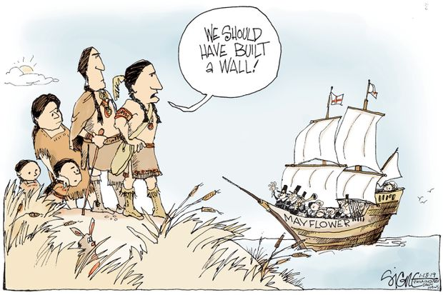 Walling Off Immigrants