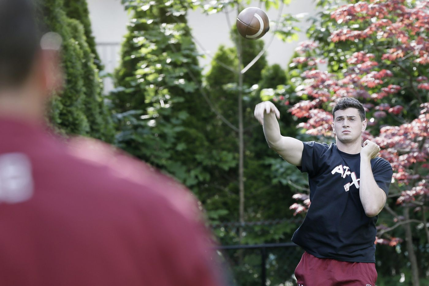 It took him three years to win the starting QB job, and Temple's Frank Nutile doesn't plan to give it up