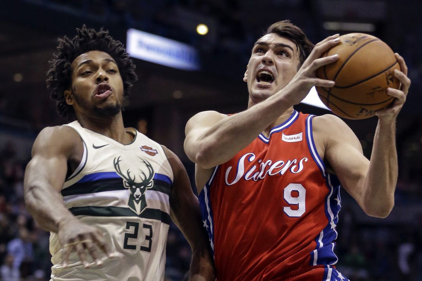 Sixers-Bucks observations: Giannis Antetokounmpo, T.J. McConnell, three-point woes