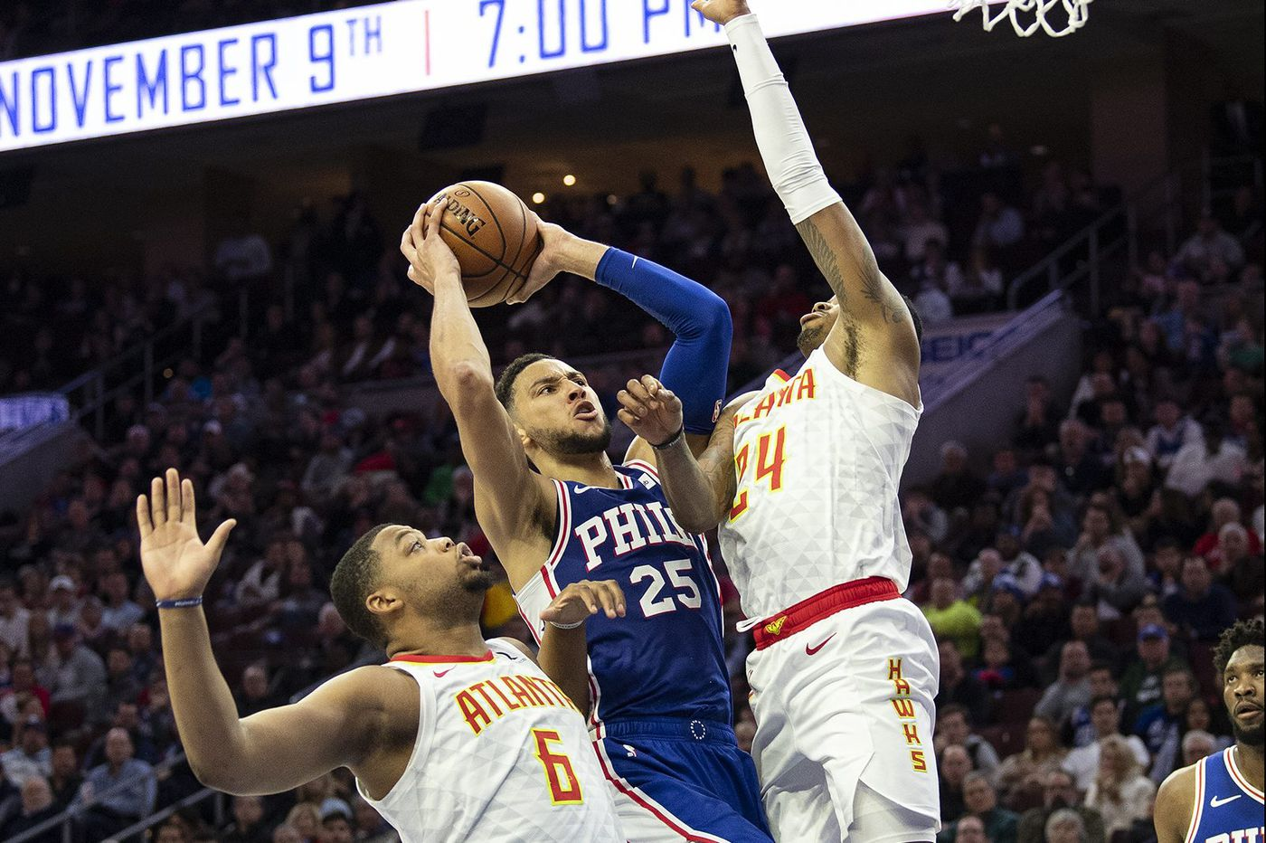 Ben Simmons' third-quarter spark lifts Sixers over Hawks