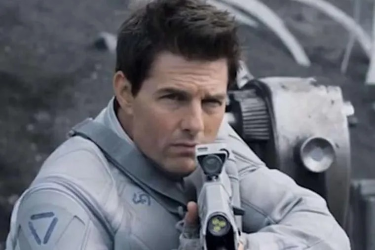 Tom Cruise stars in Oblivion, an original and groundbreaking cinematic event from the director of TRON: Legacy and the producer of Rise of the Planet of the Apes.  Jack Harper (Cruise) is one of the last few drone repairmen stationed on Earth. Part of a massive operation to extract vital resources after decades of war with a terrifying threat known as the Scavs, Jack's mission is nearly complete. Living and patrolling the breathtaking skies from thousands of feet above, his soaring existence is brought crashing down when he rescues a beautiful stranger from a downed spacecraft. Her arrival triggers a chain of events that forces him to question everything he knows and puts the fate of humanity in his hands.