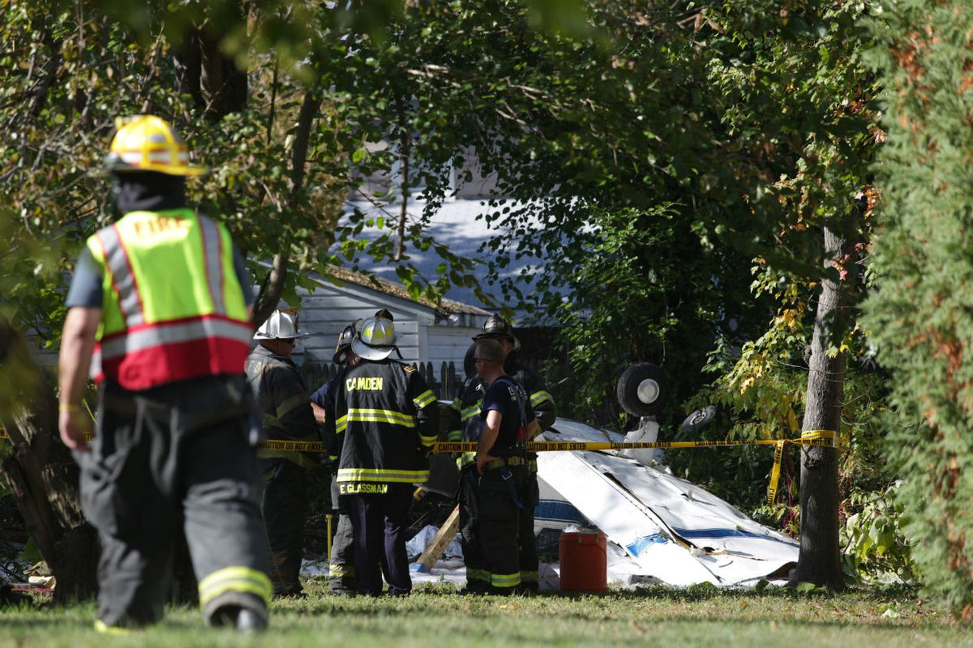 Plane lost power before crashing in South Jersey neighborhood