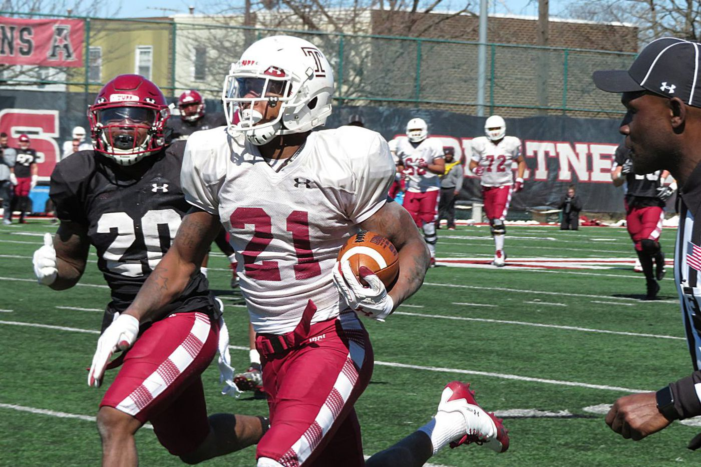 Temple's Jager Gardner working himself back into RB rotation