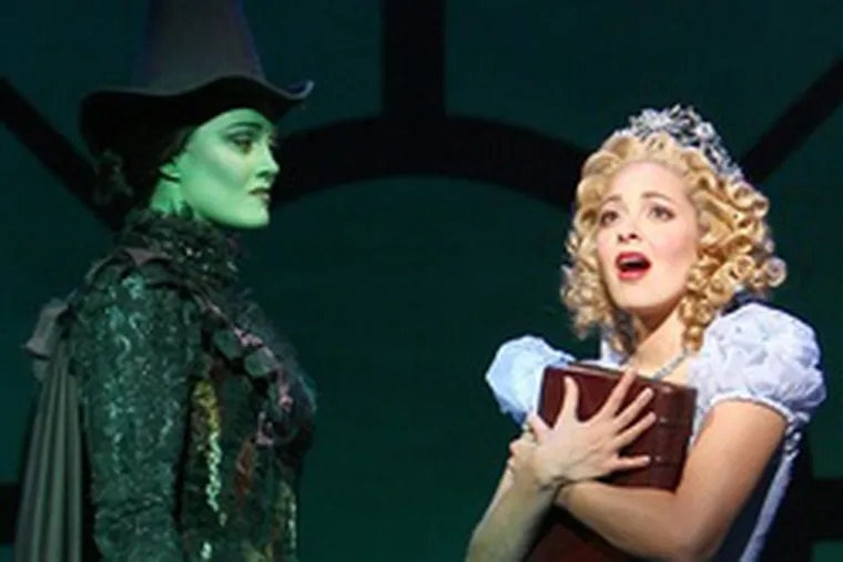 """""""Wicked,"""" with its strong, intelligent female lead, appealsto tween girls, as does its related merchandise."""