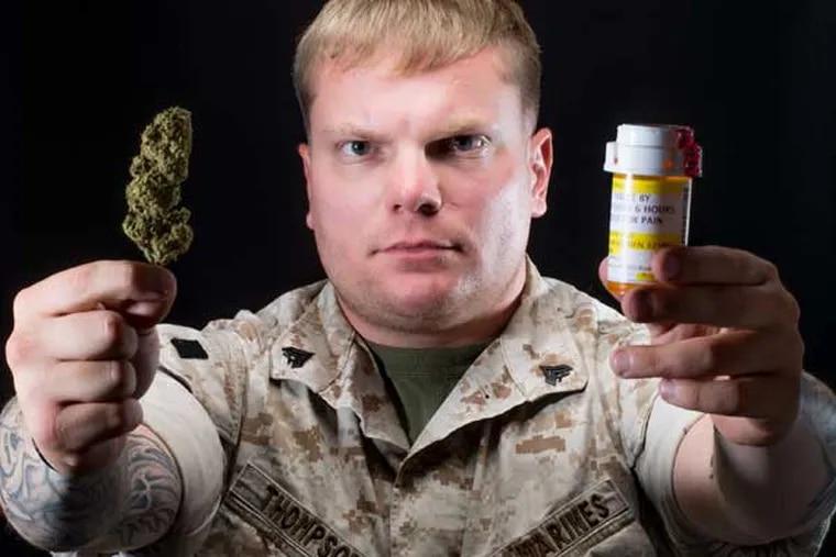 USMC veteran Barrett Thompson by Mike Whiter Photography, Philadelphia #OperationOverMed.