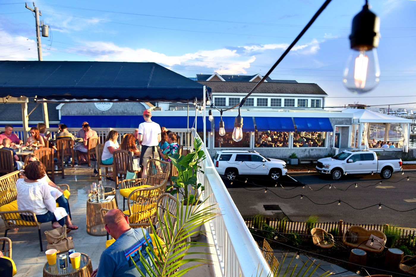 Shore Restaurants, Part I: Dining outdoors with bay breezes, sunsets, and fresh beach flavors