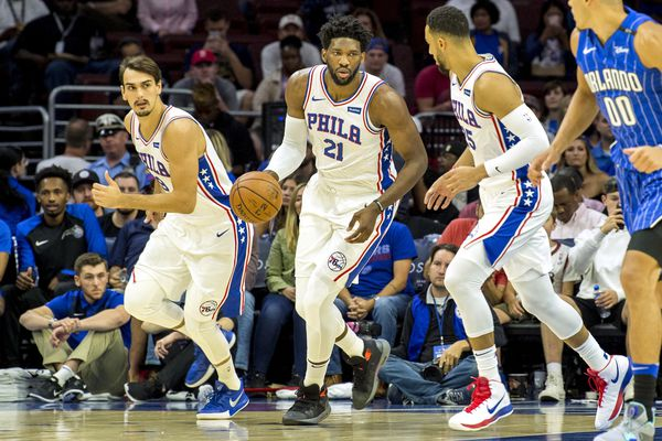 Sixers dealing with lofty expectations for first time in six seasons