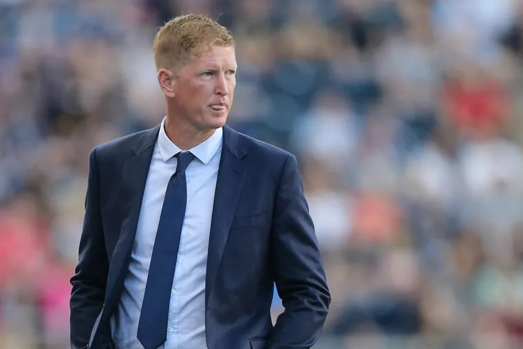 """""""I would be in the category of a coach who supports what players that are people of color want to decide,"""" Jim Curtin says."""