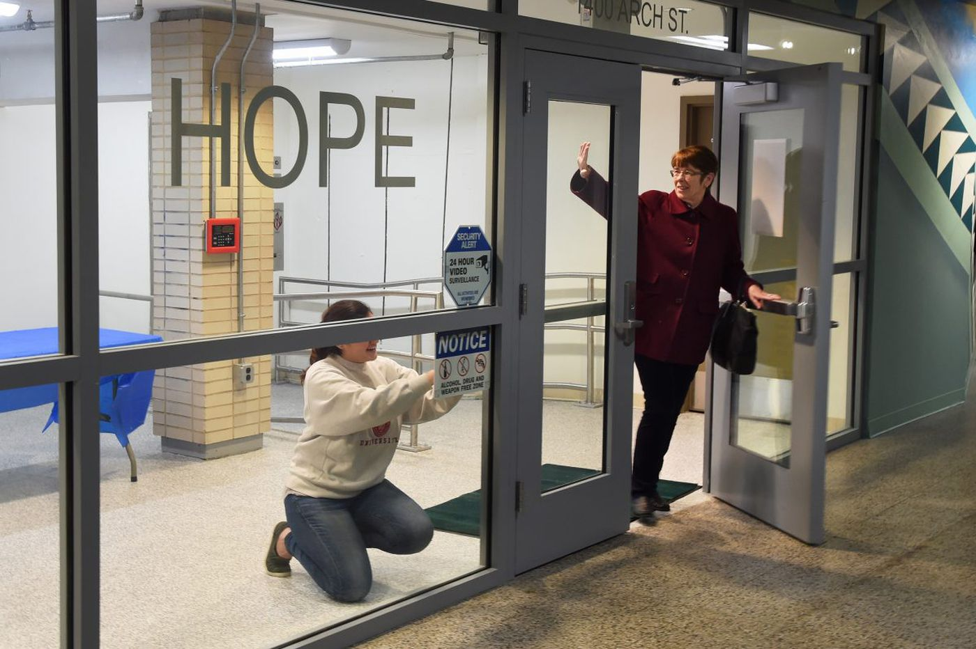 Get a first look at Suburban Station's new homeless services center