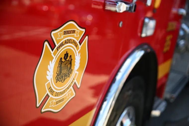 A Philadelphia Fire Department Truck