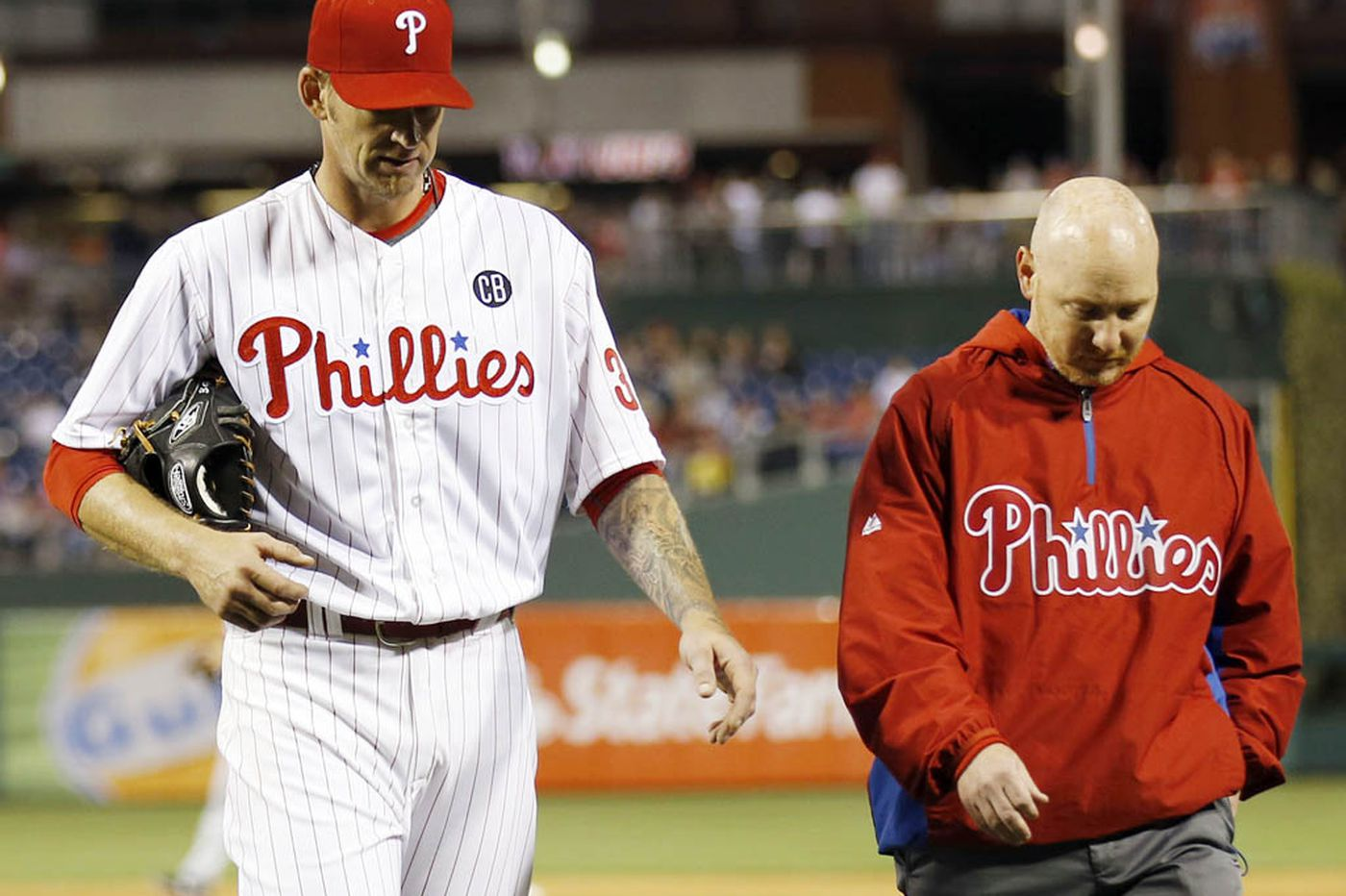 Phillies Notes: Burnett plans to keep pitching with hernia