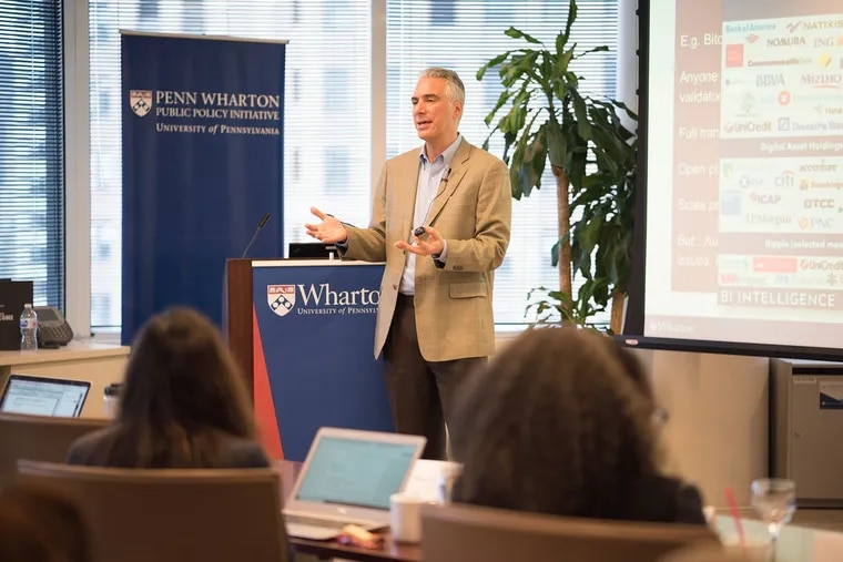Kevin Werbach, a professor at the Wharton School of Business at the University of Pennsylvania, focuses on emerging technologies.