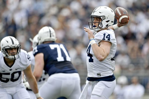 James Franklin wishes Tommy Stevens well, looks ahead to Penn State's quarterback competition