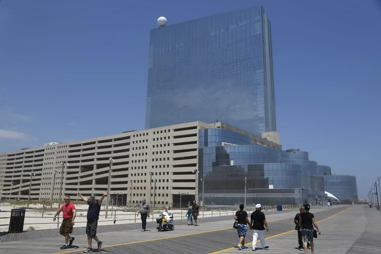 The former Revel Casino and Hotel in Atlantic City.