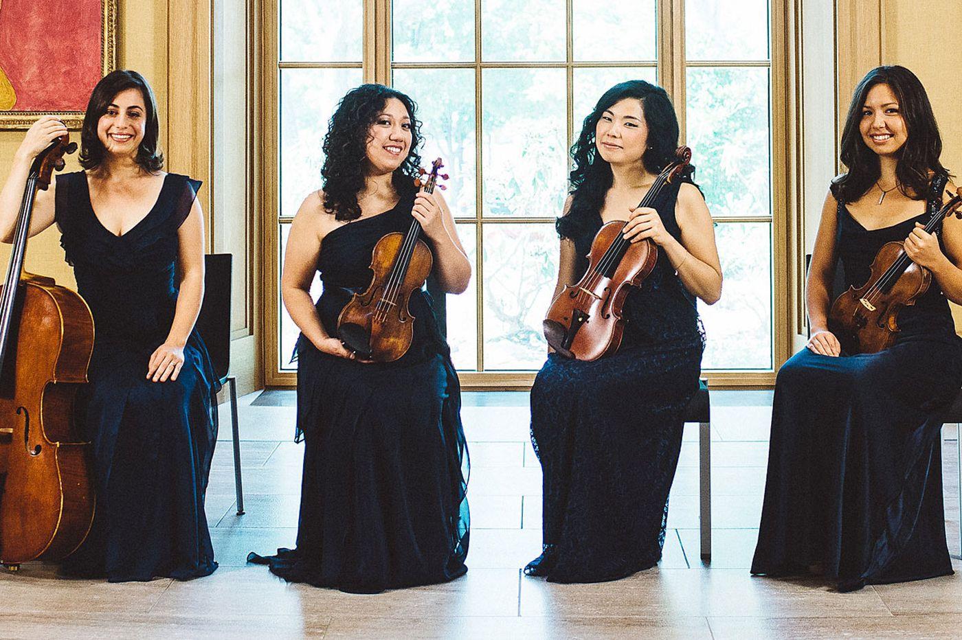 Review: Aizuri Quartet, soprano, illuminate Higdon work