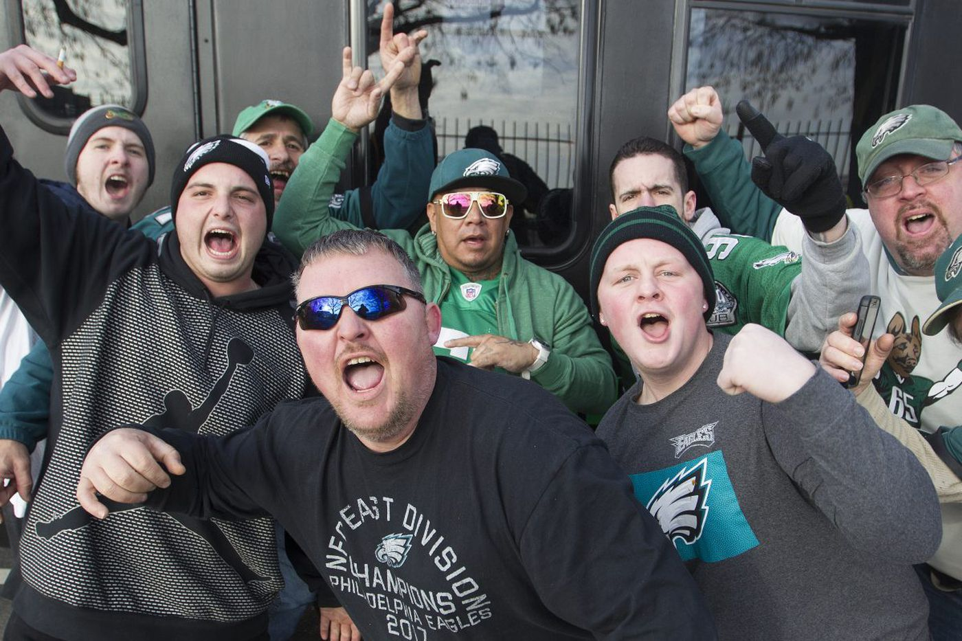 Eagles faithful start the party early and want one more - at the Super Bowl