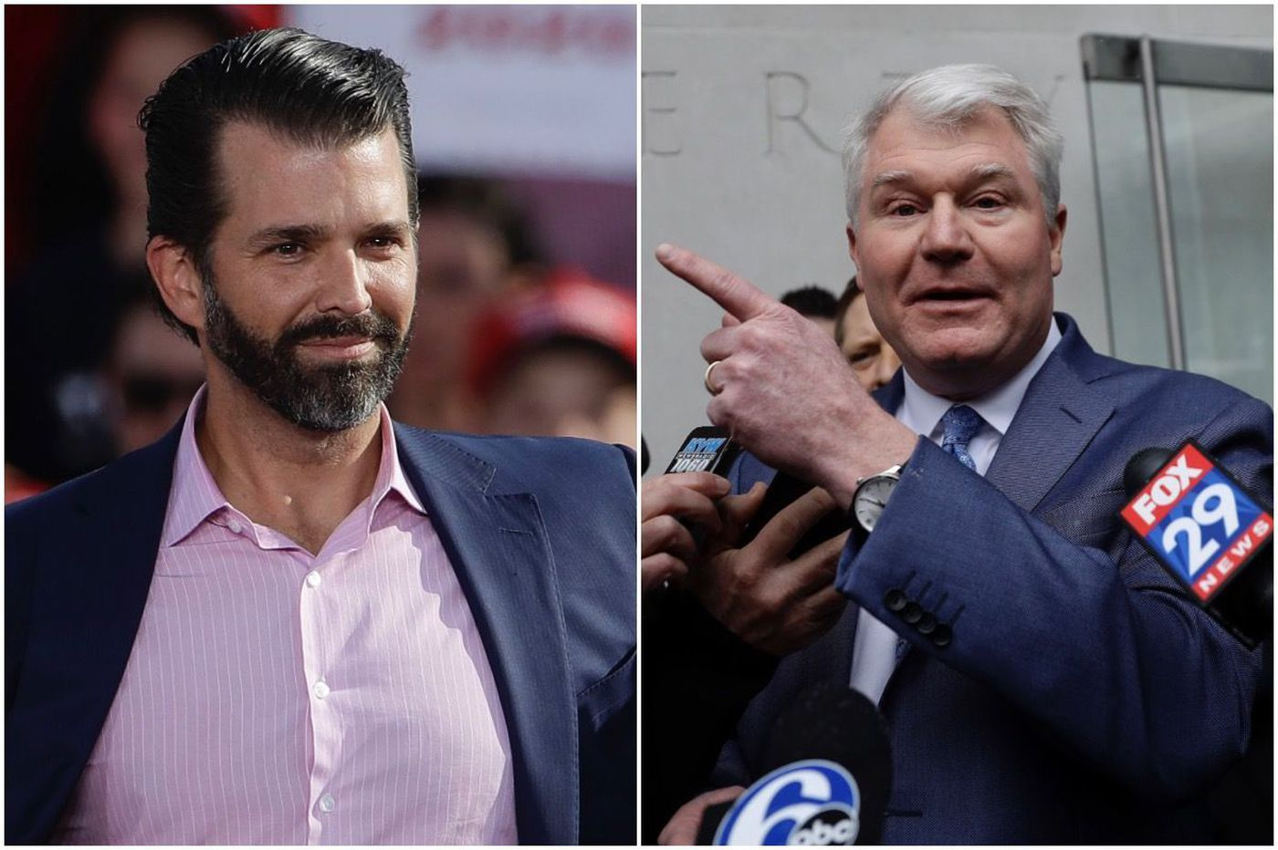 Donald Trump Jr. blasts Philly labor leader 'Johnny Doc' as a 'swamp creature.' He just visited the White House.