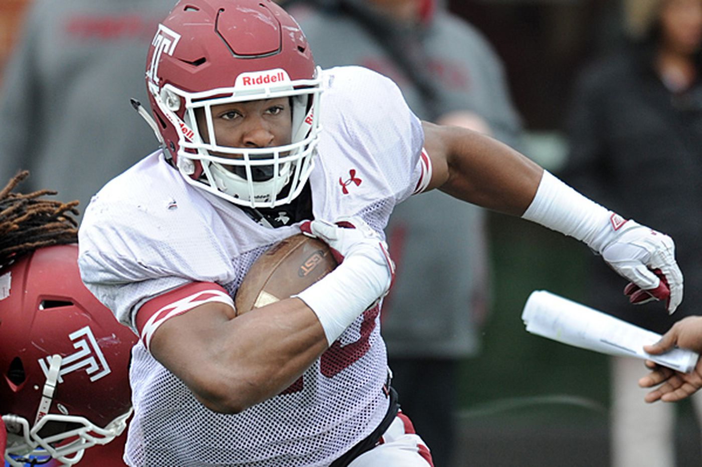 Temple RB Zaire Williams back at full strength