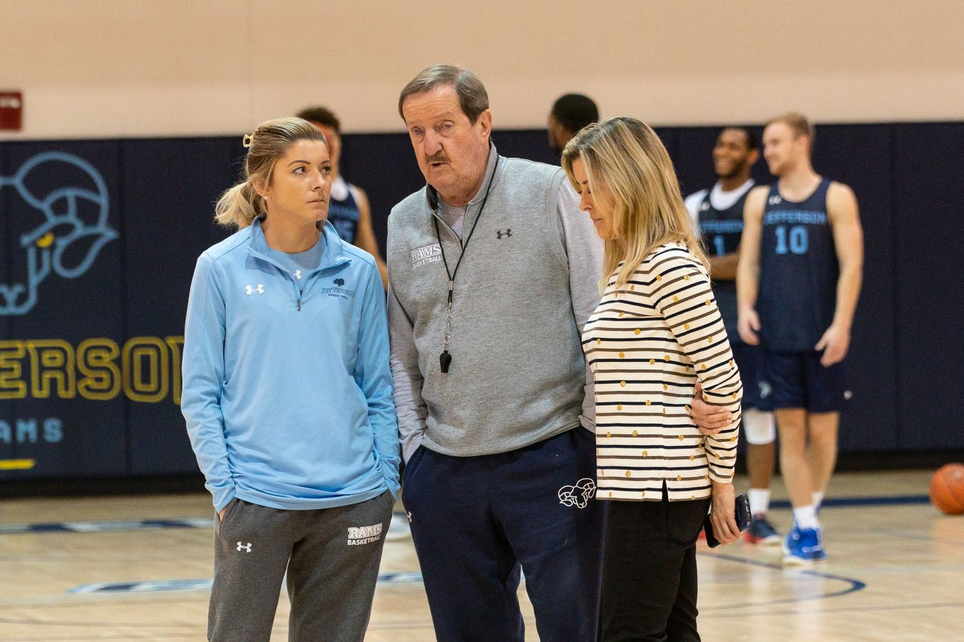 It took Herb Magee 52 seasons to hire a female assistant coach, but he's happy he did