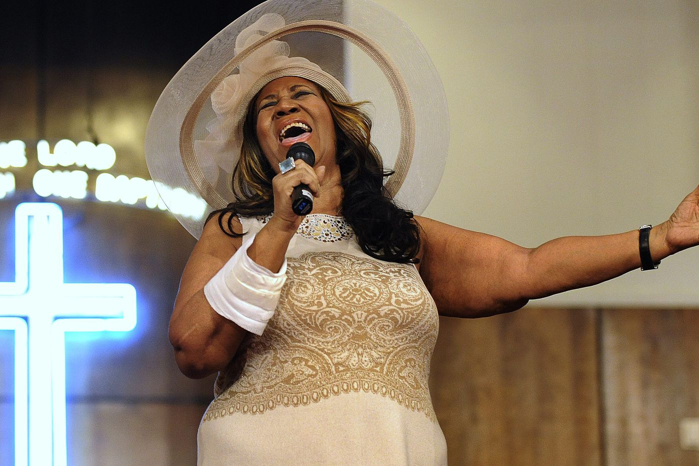 Aretha Franklin was also a big fan of golf … and Tiger Woods