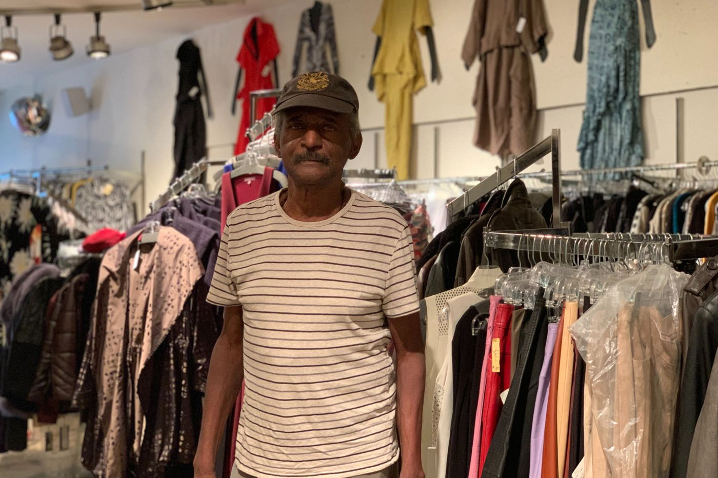 In the aftermath of damage and theft, worried and weary business owners take stock