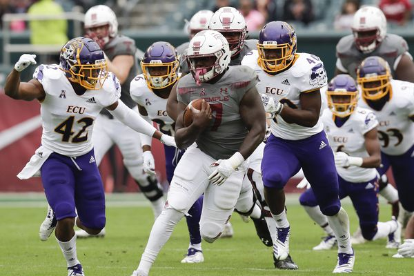 Temple RB Ryquell Armstead gets more recognition for six-touchdown effort