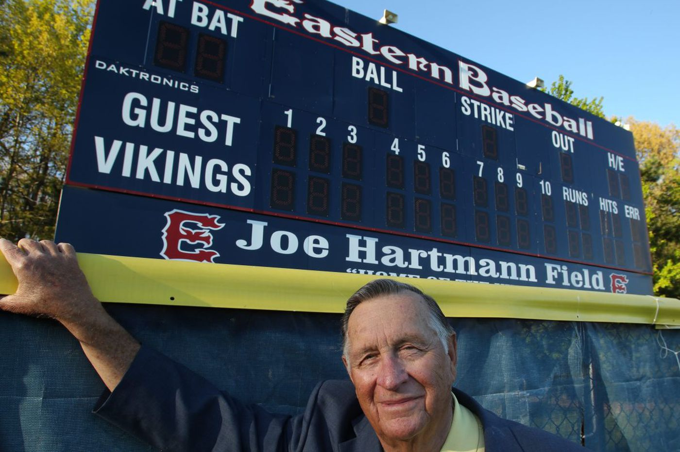 South Jersey's Joe Hartmann to be honored by Phila. Sports Writers Association