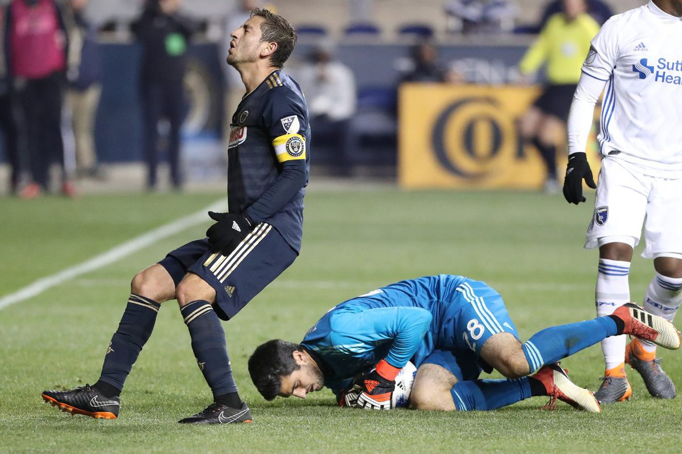 Union record 22 shots but just one goal in 1-1 tie with San Jose Earthquakes