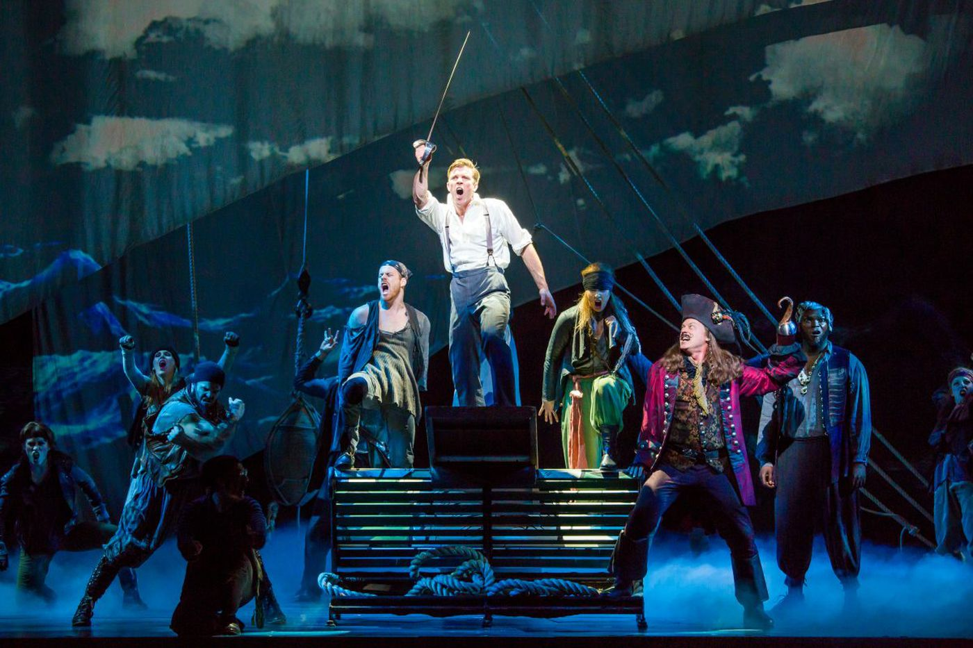 'Finding Neverland' at Academy of Music: Adult musical masquerading as a children's show