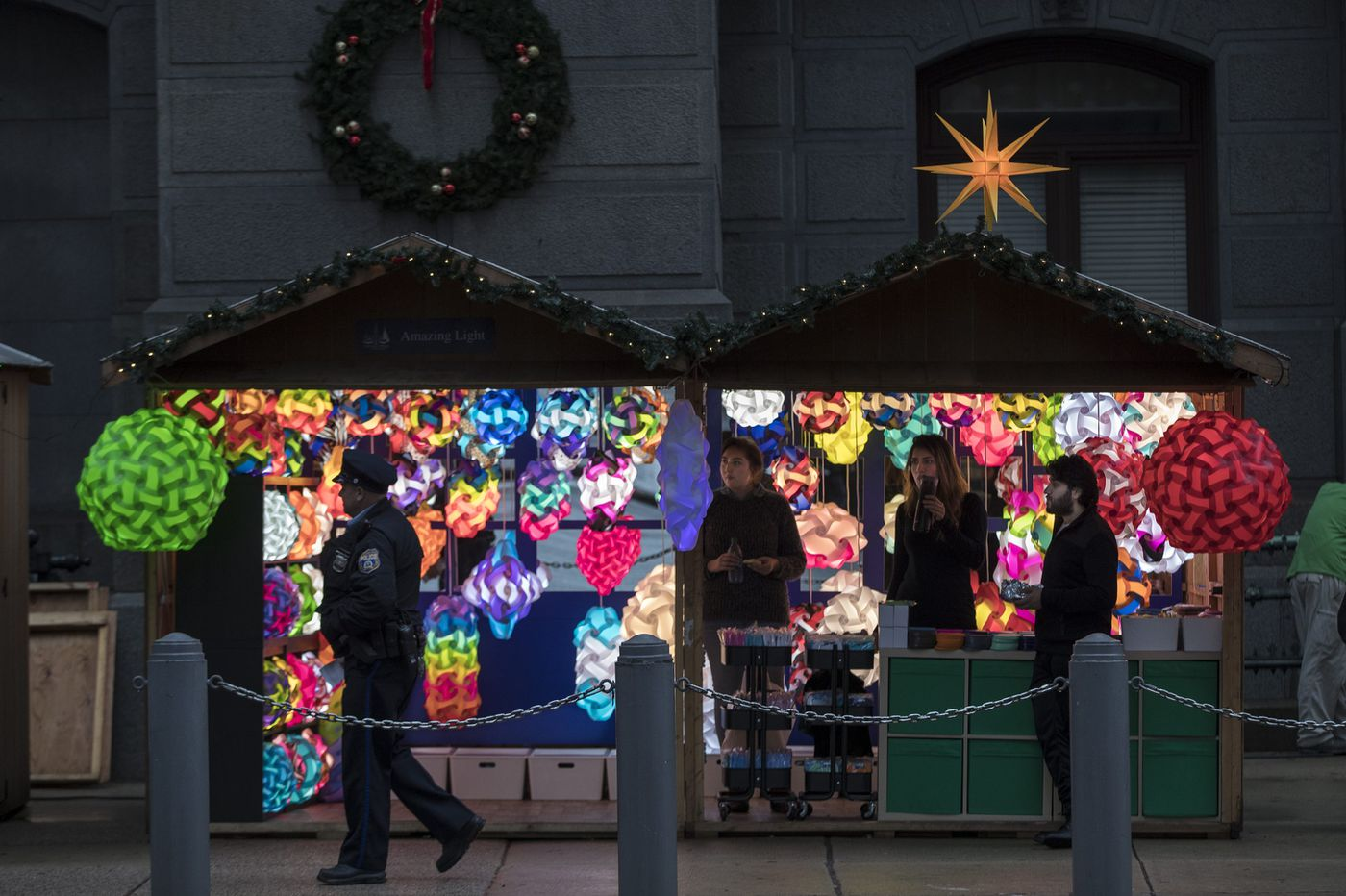 Christmas Village opening in LOVE Park for its 11th year on Thanksgiving