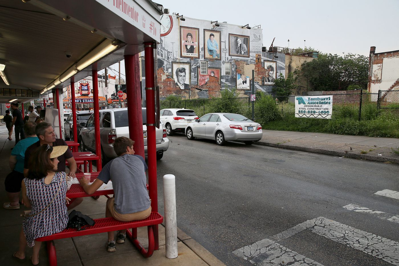 That empty lot across from Pat's and Geno's? Apartments, rowhouses likely soon at Philly's cheesesteak corner.