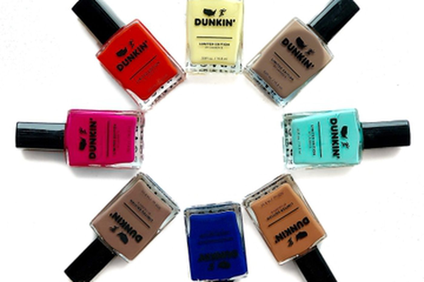 Frost yourself with Dunkin' Donuts nail polish, now available at Philly salons