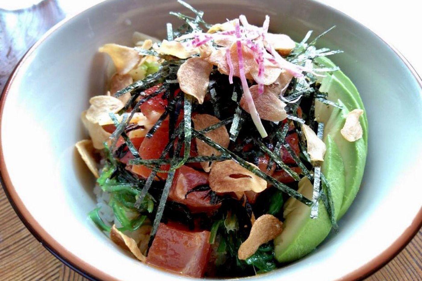 Nom Nom Bowl brings sushi and ramen together in Center City