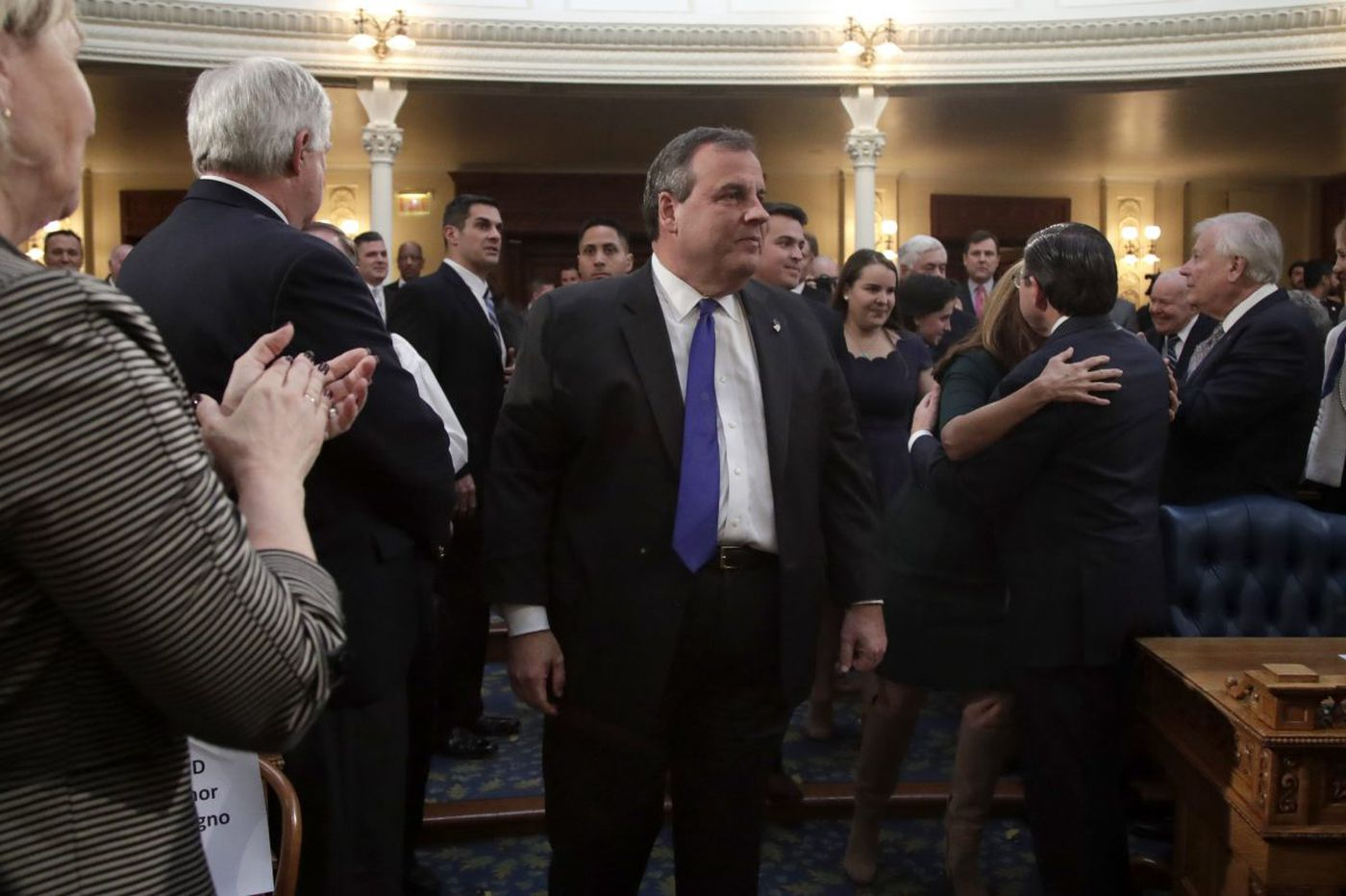 Chris Christie said he was 'tired' of the GOP 'crazies.' Did he join them?