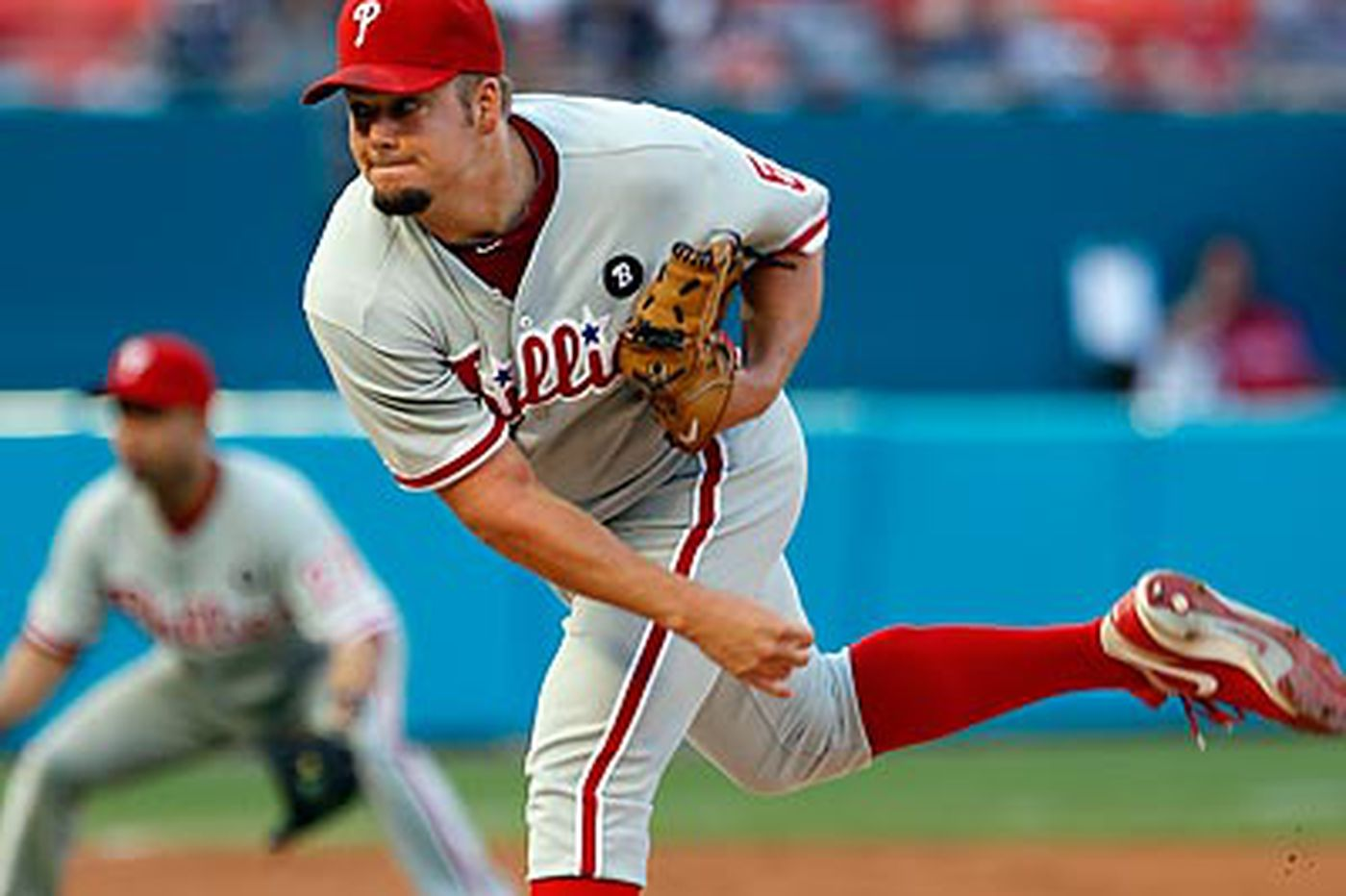Phillies Notes: Phillies' Manuel: Blanton was sore after Monday's start
