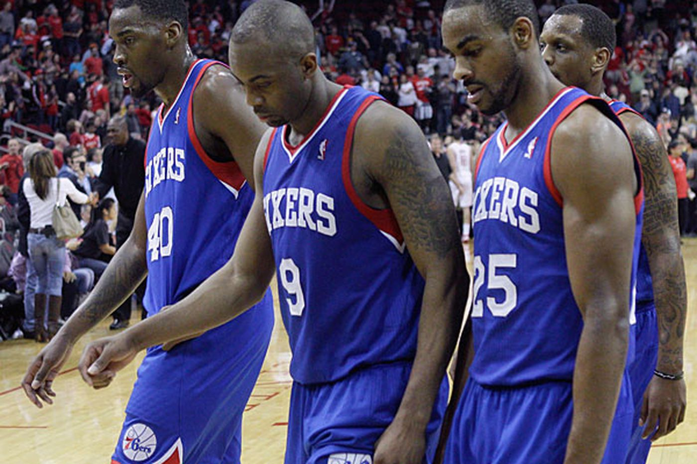 A long, trying season for Sixers
