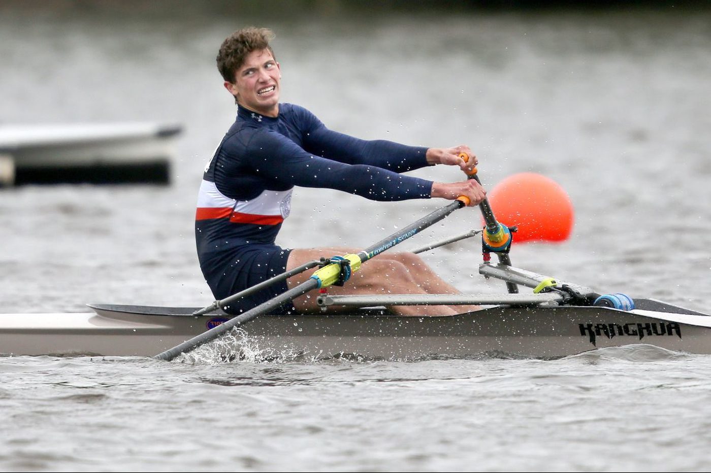 Chilly weather and a strong headwind mark the first day of Stotesbury Cup Regatta