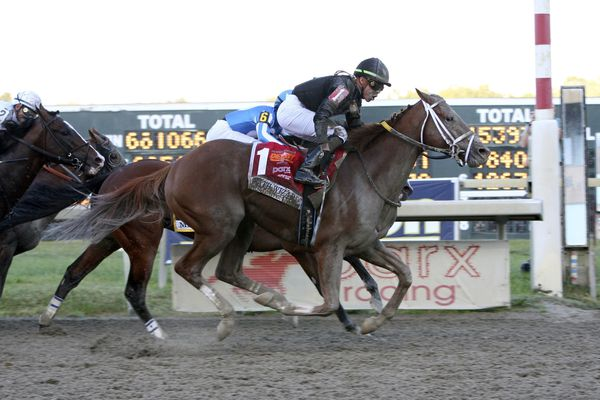 Math Wizard pays off in Pennsylvania Derby at Parx
