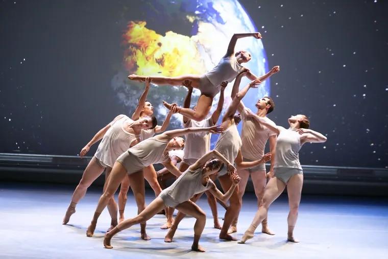 "BalletX in Jo Strømgren's ""The Moon."""