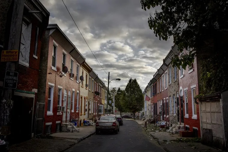 Ringgold Street is in one of the worst neighborhoods in the city for lead hazards.