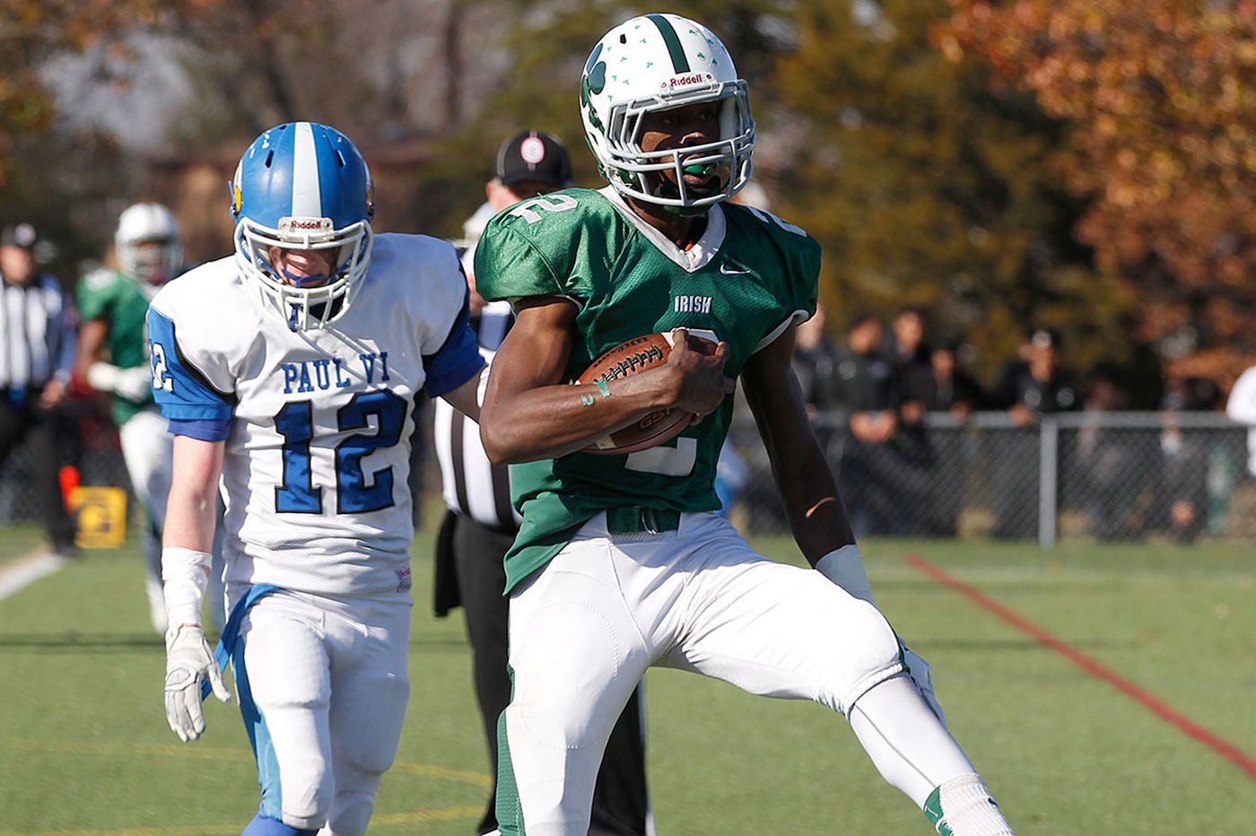Narducci: Camden Catholic's Rodgers makes final game at QB count