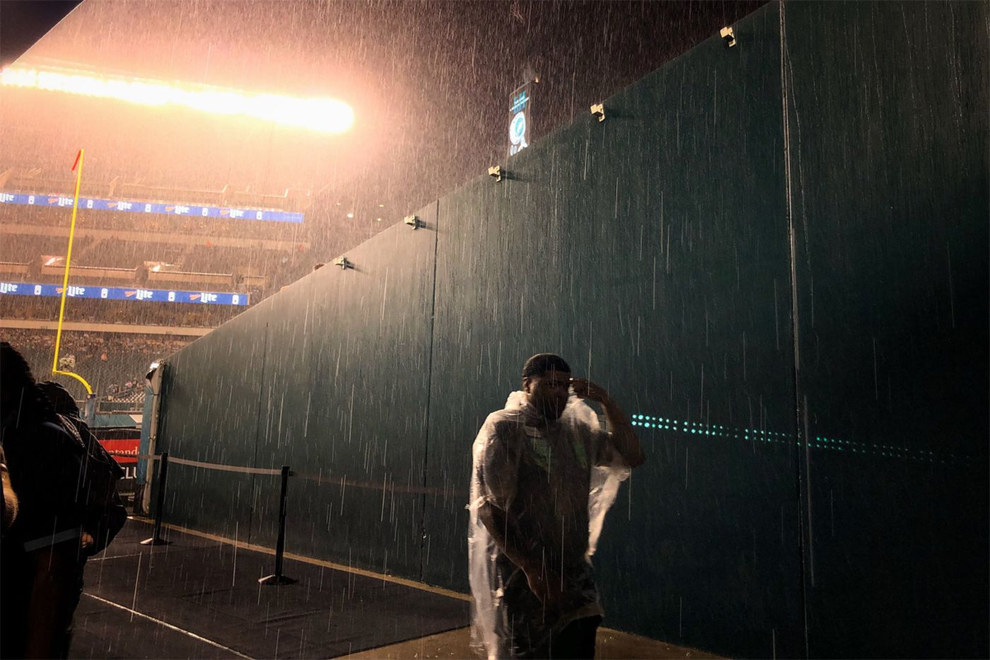 Eagles-Giants weather: Heavy rain, thunderstorms in the forecast