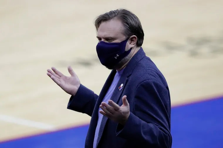 Sixers president of basketball operations Daryl Morey is quarantining due to contact tracing.