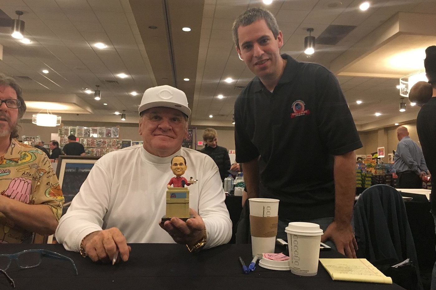 Former Phillies star Pete Rose has a familiar routine in Las Vegas: autographs and betting