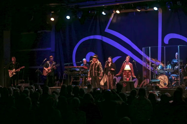 Country star Tanya Tucker in concert, playing World Cafe Live in February, before the coronavirus shutdowns.
