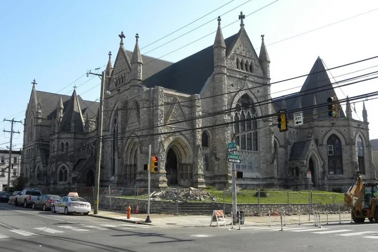 Completed in 1888, the Victorian Gothic Christ Memorial Reformed Episcopal Church at 43rd and Chestnut could be torn down. It was designed by Isaac Pursell, a noted church architect.