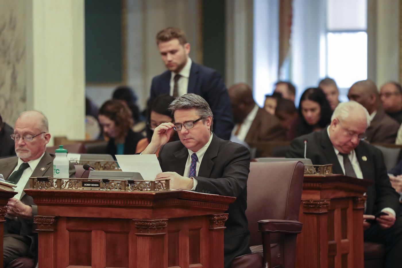 Philly Councilman Bobby Henon returns to work after indictment, won't step down as majority leader