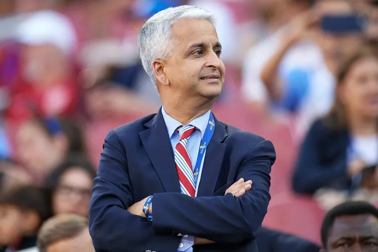 United States Soccer Federation president Sunil Gulati is under considerable public pressure to resign.