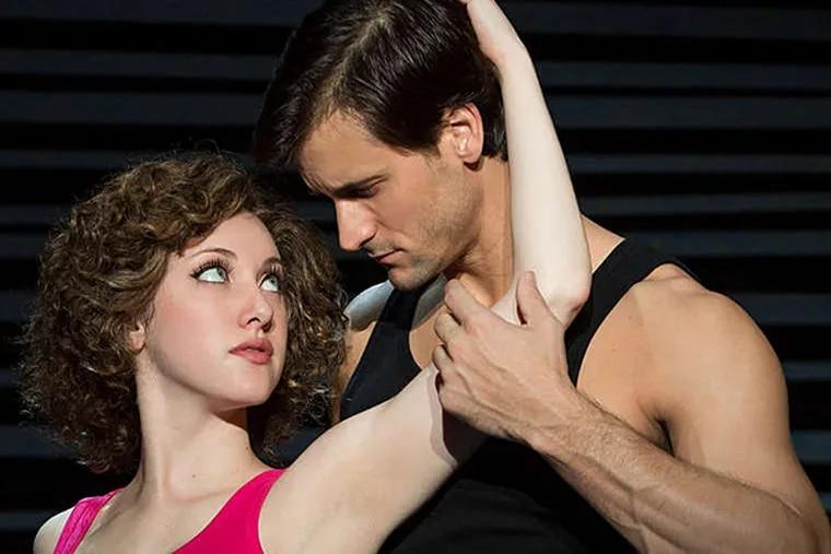 "Jillian Mueller and Samuel Pergande in the musical version of ""Dirty Dancing."" (Photo credit: Matthew Murphy)"