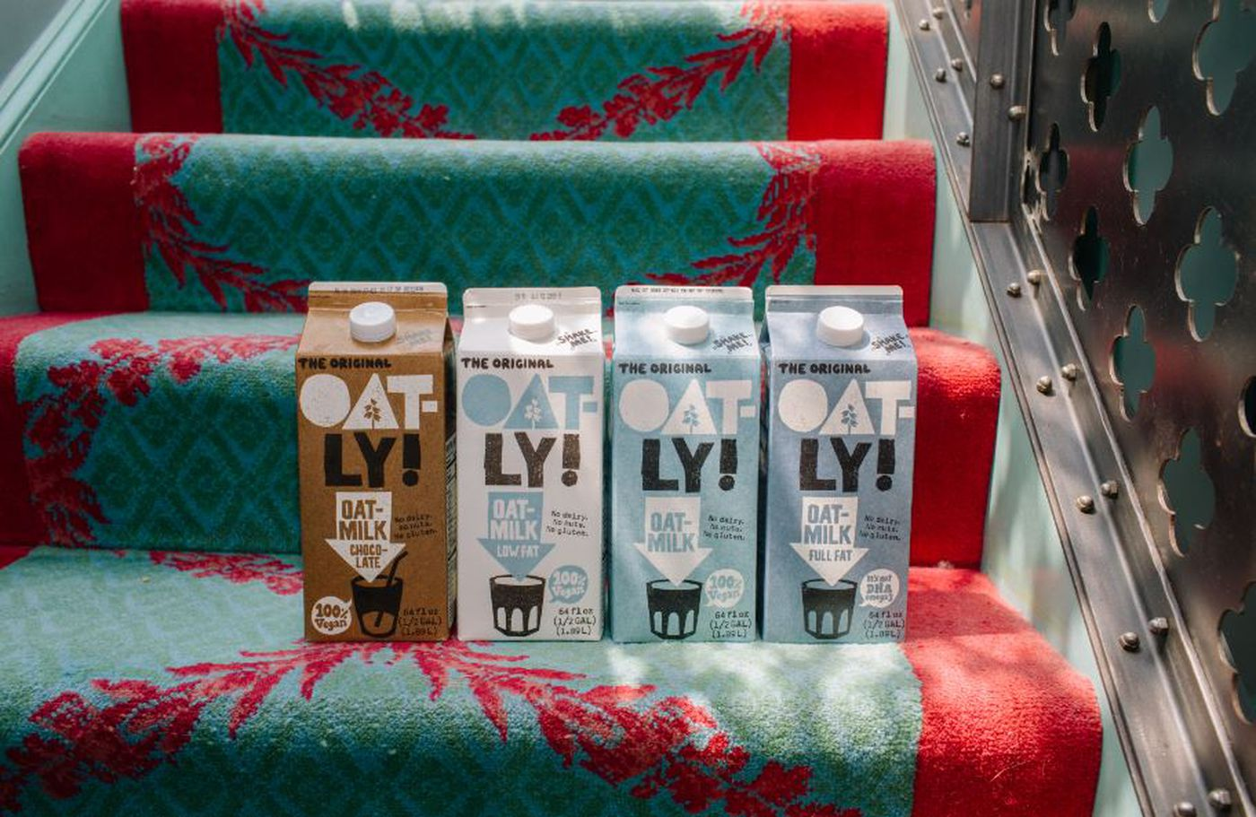 Oatly, a Swedish-based oat milk company, opened a plant in Millville, N.J., in 2018